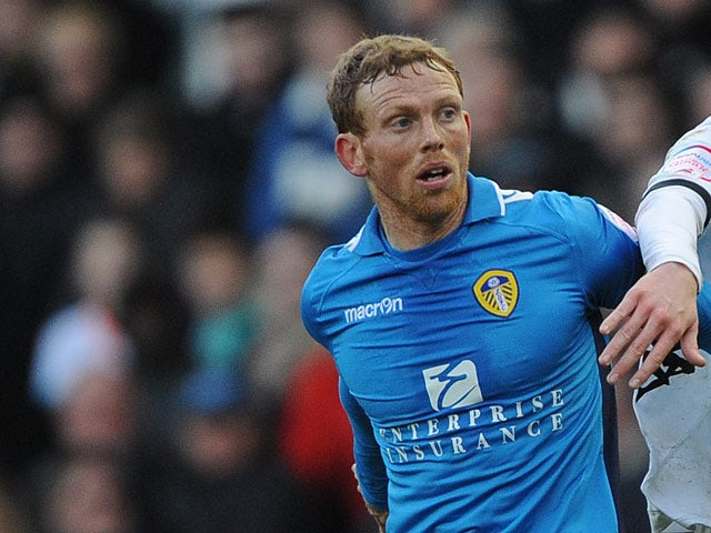Leeds United's Paul Green on December 8, 2012