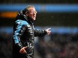 Aston Villa manager Paul Lambert on the touchline on December 29, 2012