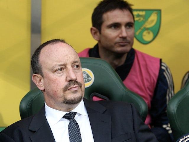 Benitez refuses to discuss Lampard future