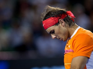Nadal struggles into final