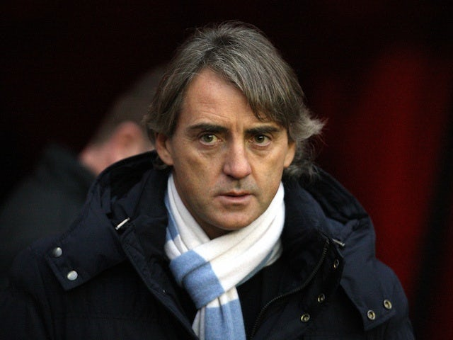 Mancini: 'Title race not over'