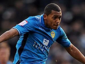 Leeds United's Ryan Hall on December 8, 2012