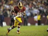Skins RB Alfred Morris carries the ball against Dallas on December 30, 2012
