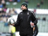 Plymouth boss Carl Fletcher before a game with Gillingham on March 3, 2012