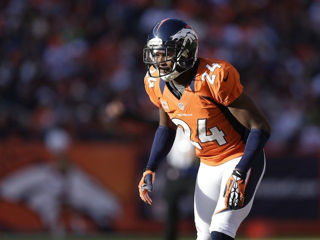 Broncos cornerback Champ Bailey in action against the Browns on December 23, 2012