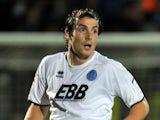 Aldershot Town's Danny Hylton on November 20, 2012