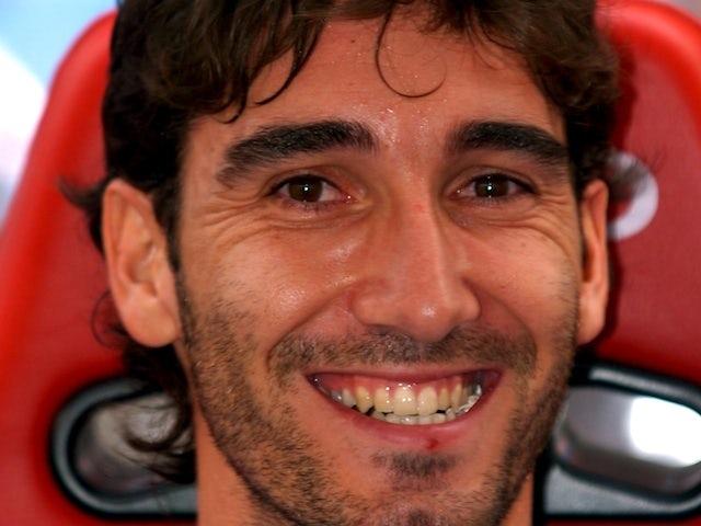 Vallecano goalkeeper David Cobeno - then of Sevilla - in the dugout on September 24, 2006