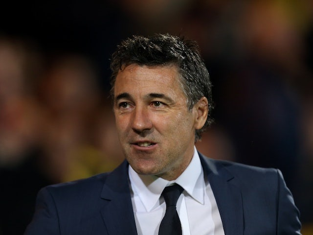 New Wolves boss Dean Saunders - when manager of Doncaster - on September 26, 2012
