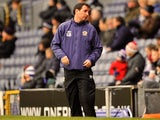 Rovers caretaker Gary Bowyer on the touchline against Forest on January 1, 2013