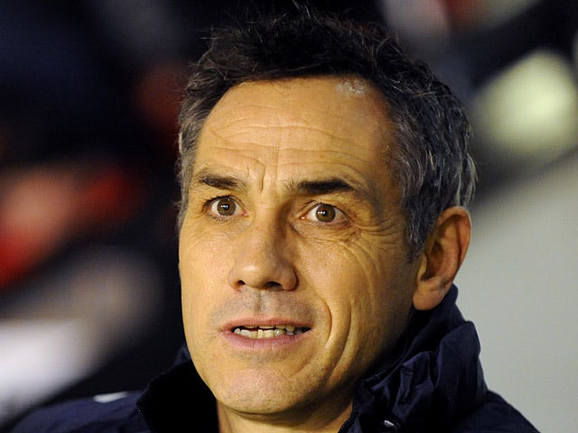 Portsmouth manager Guy Whittingham during the match against Walsall on January 4, 2013