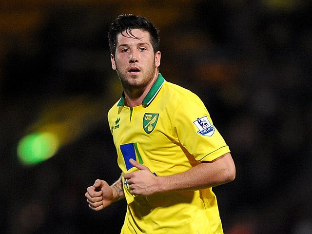 Norwich City's Jacob Butterfield on October 31, 2012