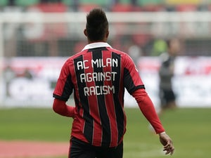 Boateng subject to racist abuse