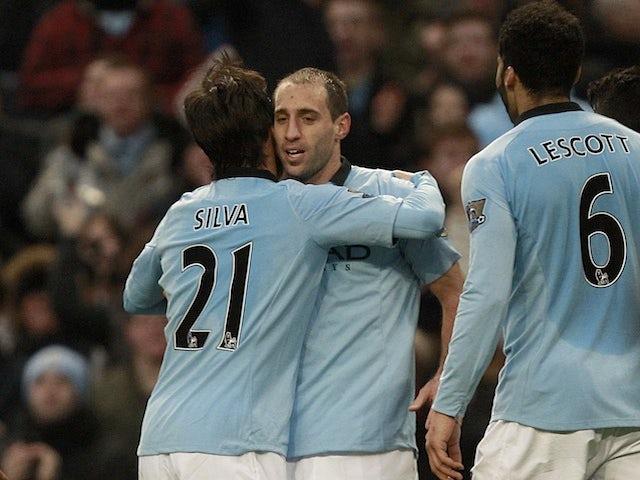 Zabaleta: 'We can catch Man Utd'