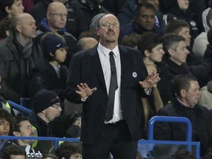 Benitez concedes Chelsea are out of title race