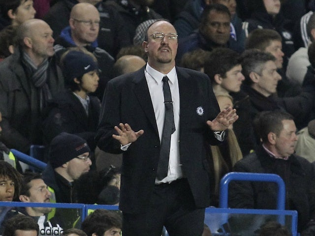 Benitez relaxed over top-four battle