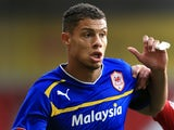 Cardiff's Rudy Gestede in action against Nottingham Forest on October 20, 2012