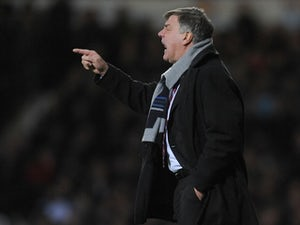Allardyce pleased with