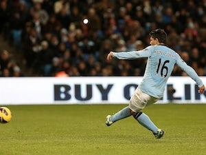 Aguero 'out of Everton match'