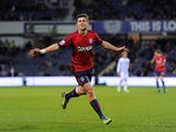West Brom striker Shane Long celebrates opening the scoring at QPR on January 5, 2013