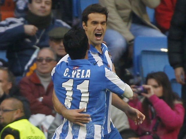 Result: Sociedad beat 10-man Zaragoza
