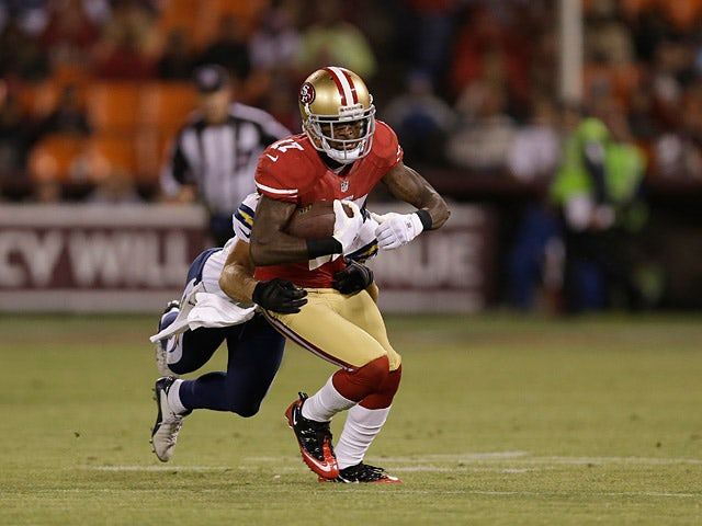 San Francisco 49ers' AJ Jenkins on August 31, 2012