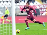 Alessio Cerci scores for Torino in his sides match versus Siena on 13 January, 2013