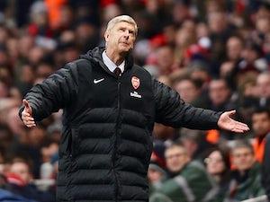 Wenger: 'Arsenal were nervous'