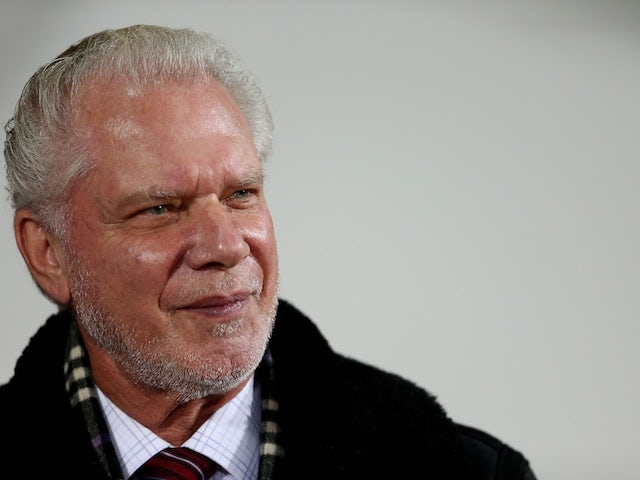 Hammers chairman David Gold at Upton Park on September 25, 2012