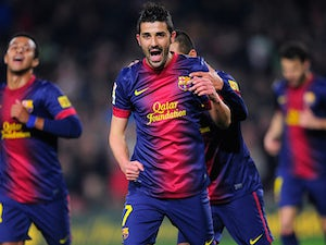 Villa asks to leave Barca?