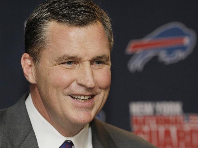 Buffalo Bills head coach Doug Marrone on January 7, 2013