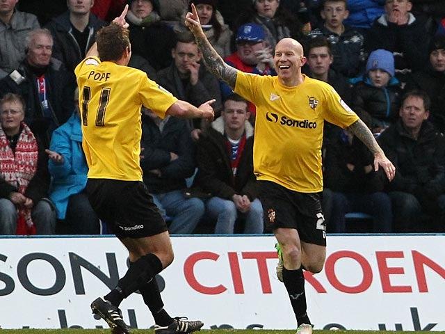 League Two roundup: Vale win, Cheltenham held