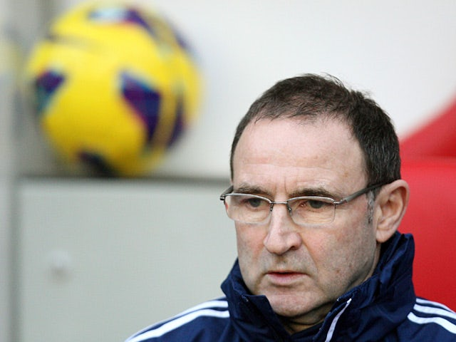 Sunderland manager Martin O'Neill during the match against West Ham on January 12, 2013