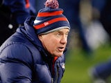 New England Patriots' Bill Belichick on December 30, 2012