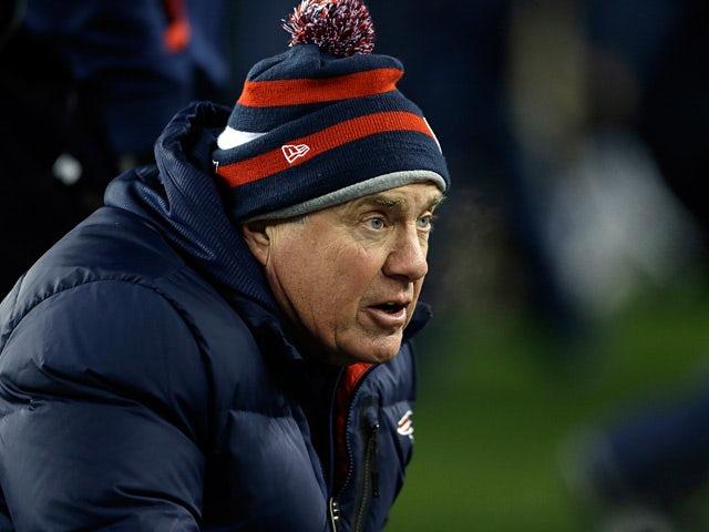 New England Patriots' Bill Belichick on December 30, 2012