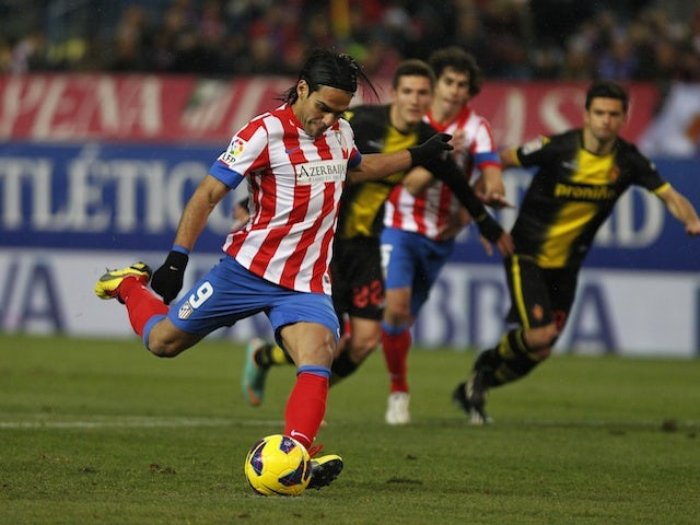 Falcao's injury not too serious
