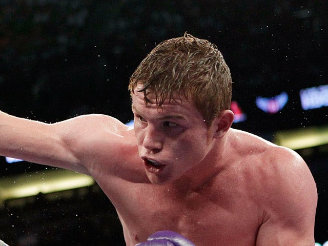Saul Alvarez on March 6, 2011