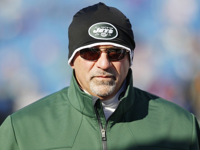 Offensive co-ordinator Tony Sparano on the field on December 30, 2012