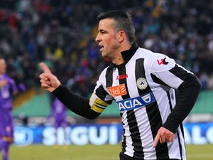 Di Natale: 'League between Juve, Napoli, Roma'