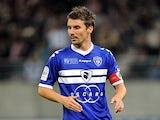 Bastia's Yannick Cahuzac on September 9, 2011