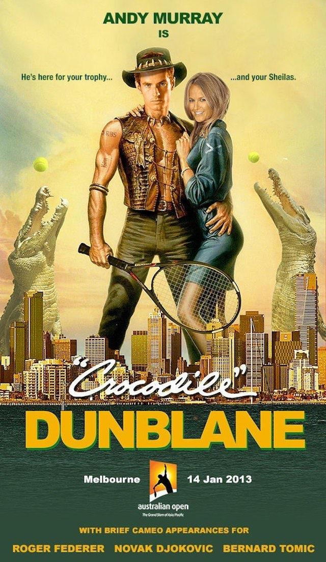 Andy Murray in Crocodile Dunblane