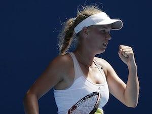 Wozniacki sees improvement