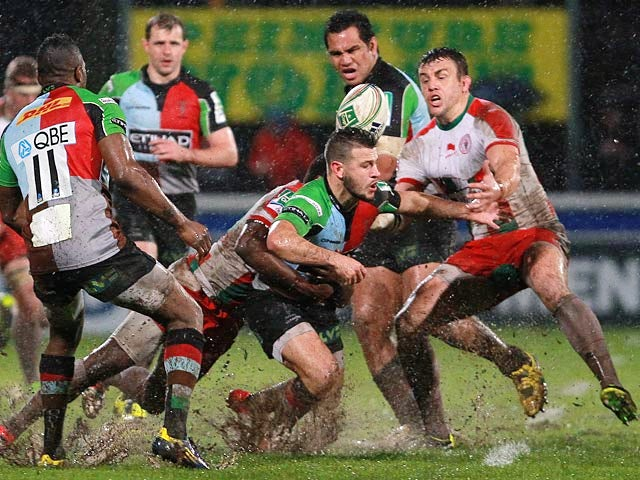 Result: Narrow win for Harlequins