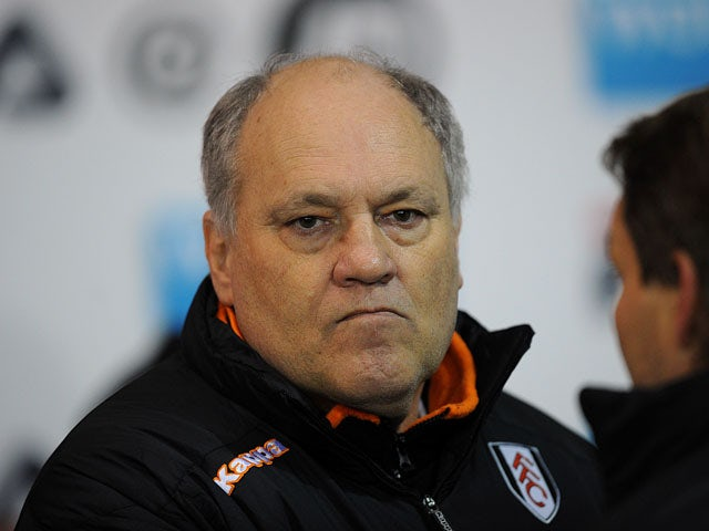 Fulham manager Martin Jol before his sides match on January 15, 2013