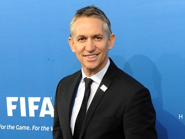 Gary Lineker arrives at the Announcement of the FIFA World Cup 2018/2022 Host Cities on December 2, 2010