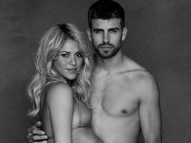 Pique, Shakira take son home