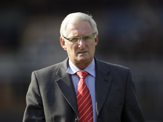 South Africa coach Gordon Igesund on the touchline during a friendly against Brazil on September 7, 2012