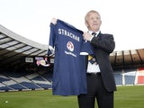 Gordon Strachan is unveiled as Scotland Manager art Hampden Park on January 15, 2013