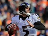 Baltimore Ravens' Joe Flacco on January 12, 2013