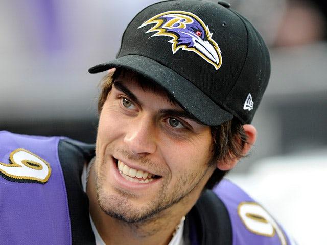 Baltimore Ravens' Justin Tucker on November 11, 2012