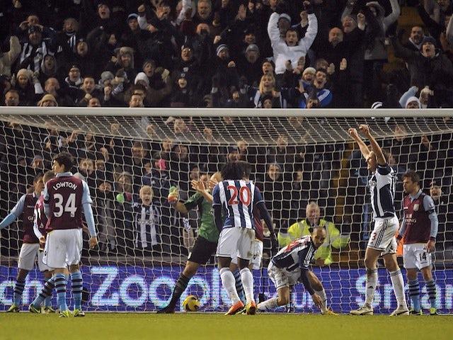 Match Analysis: West Brom 2-2 Aston Villa